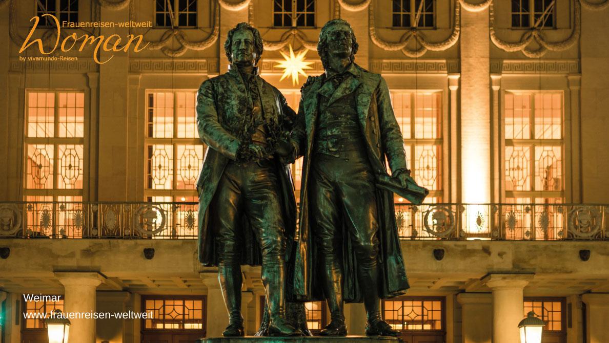 Weimar Goethe und Schiller